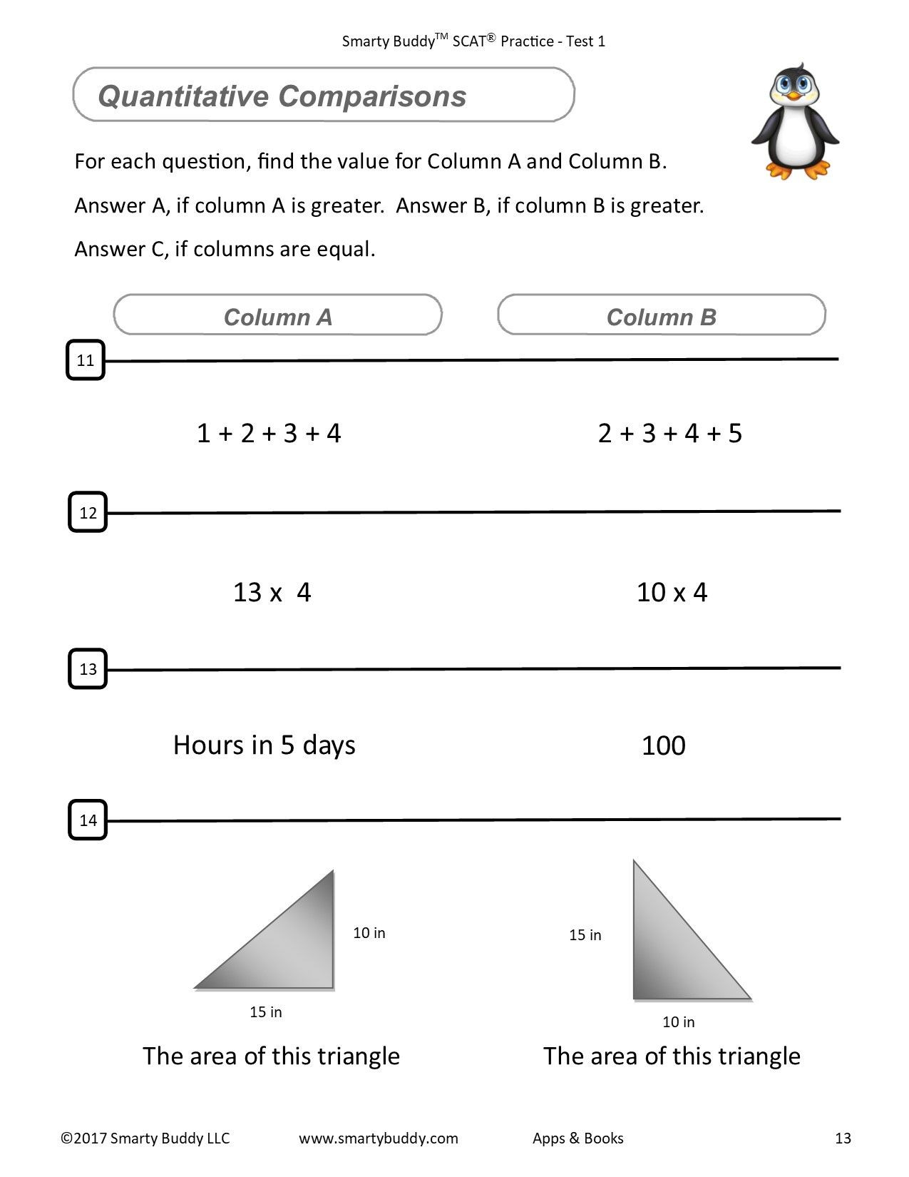 Gifted and Talented Math Worksheets Gifted and Talented Smarty Buddy ™ Scat Elementary Series