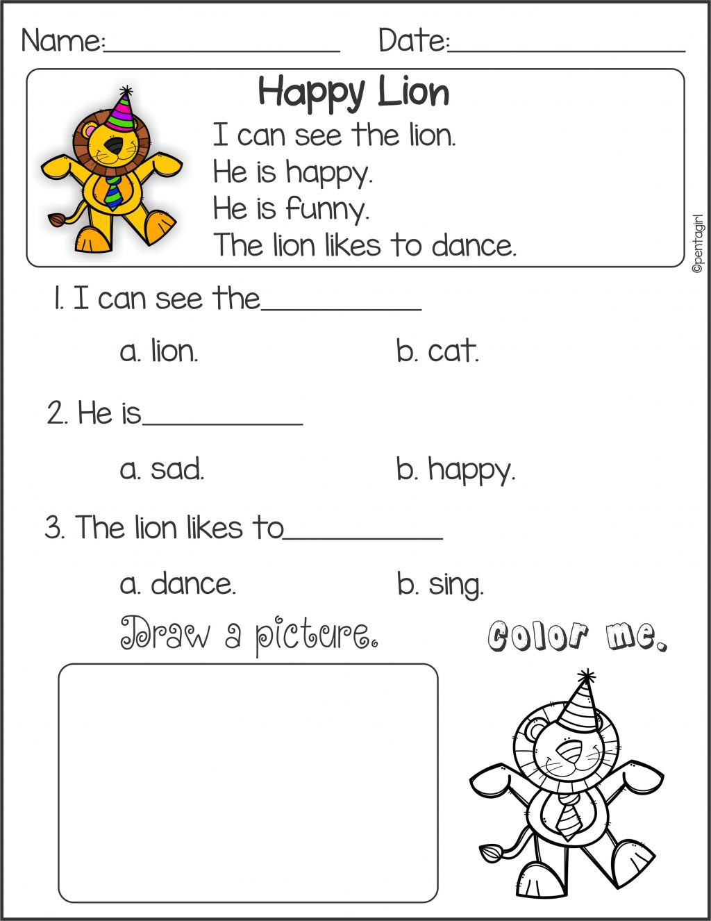 Grade 1 Reading Worksheets Worksheet Worksheet Ideas Year Prehension Worksheets