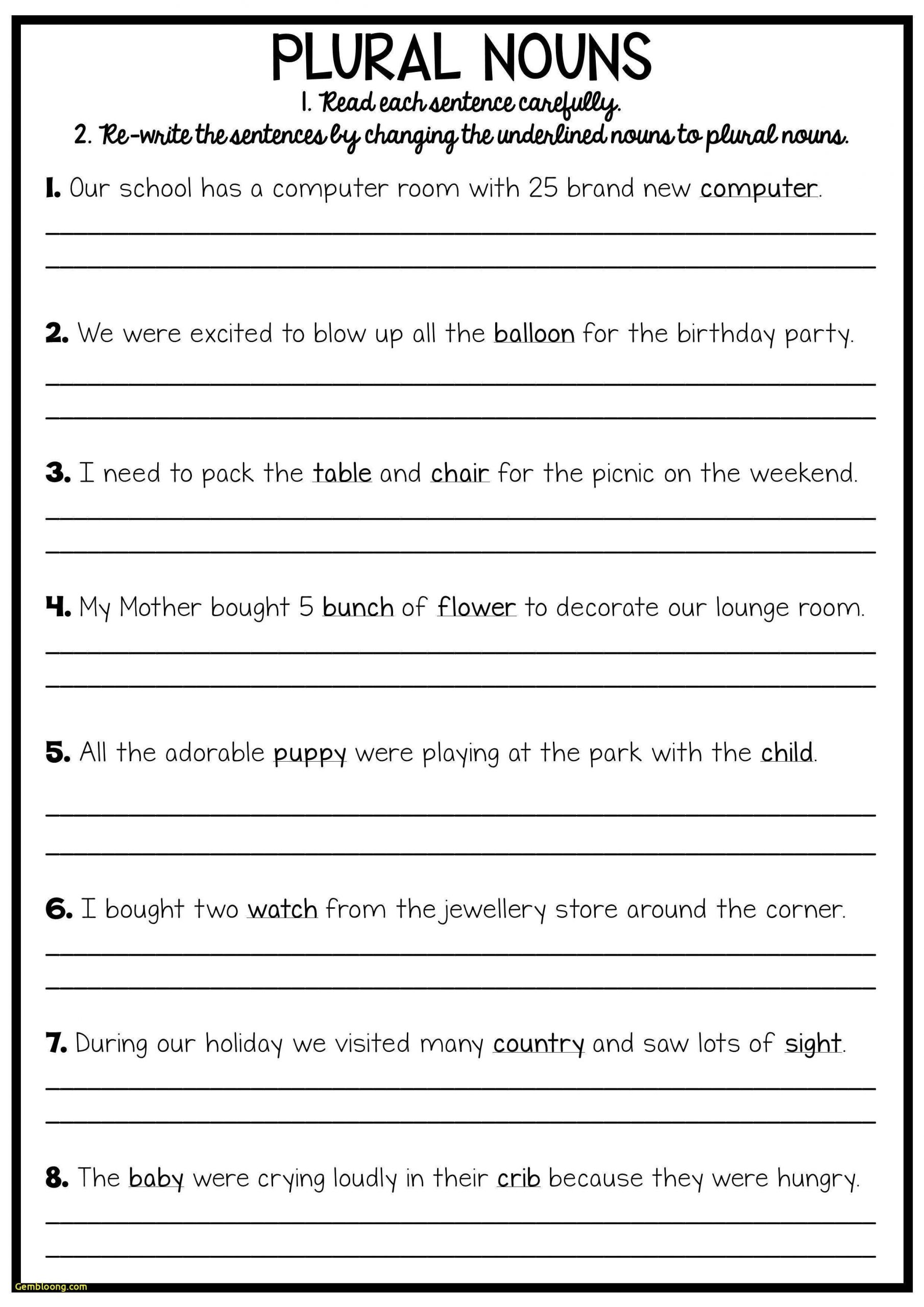 Grammar Worksheet 3rd Grade Ficialqualified Esl Beginner Worksheets