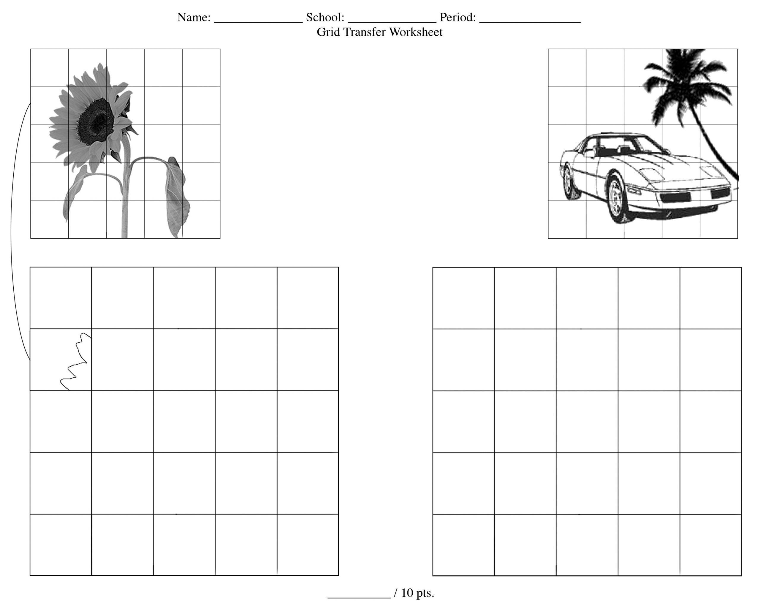 Grid Drawing Worksheets Middle School 28 [ Grid Drawing Worksheets ]