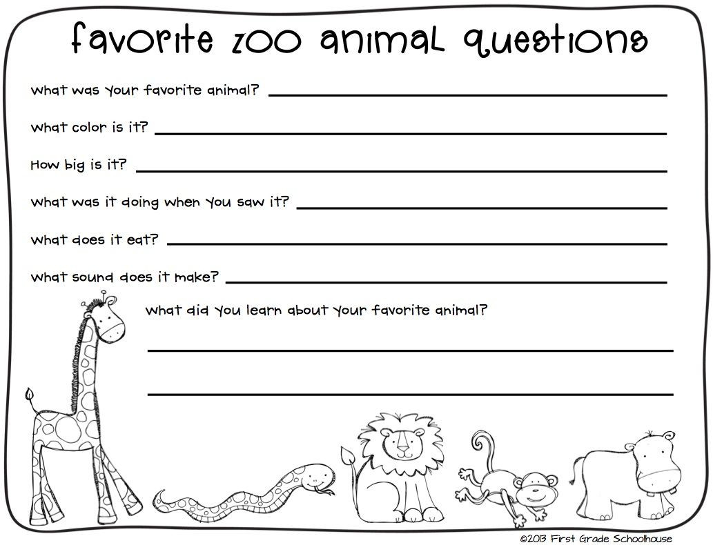 Habitat Worksheets for 1st Grade Animal Worksheets Second Grade