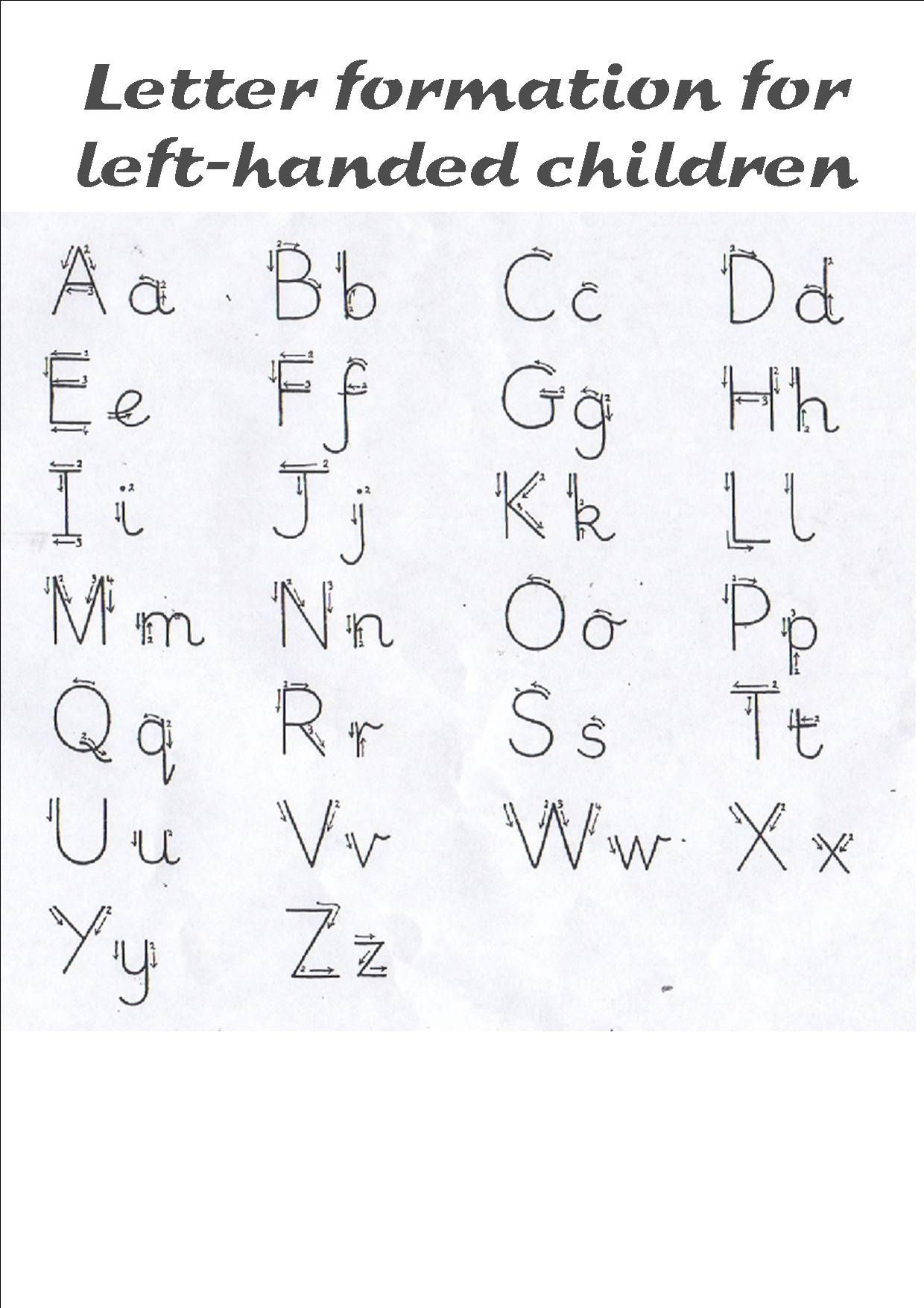 Handwriting without Tears Worksheets Letter formation L