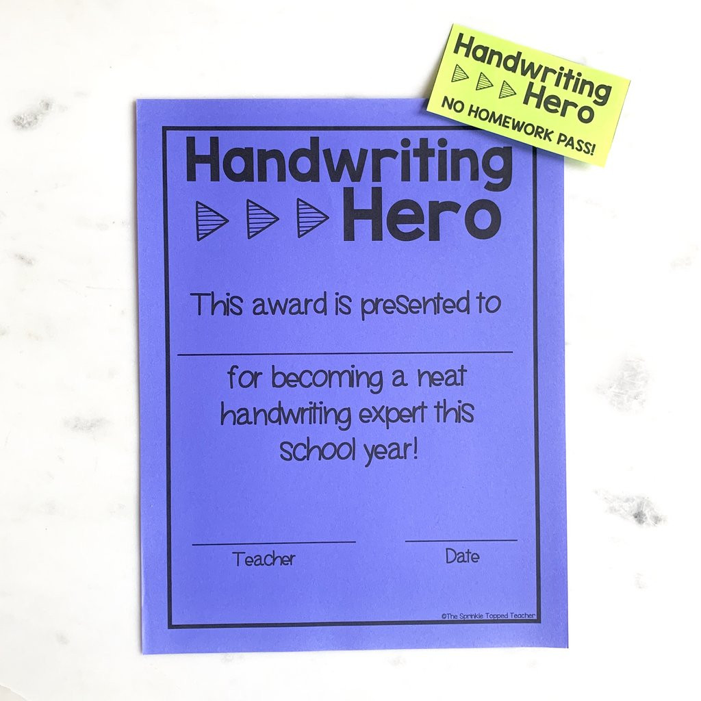 Handwriting Worksheets for Older Students Year Long Handwriting Worksheets for Older Students Print