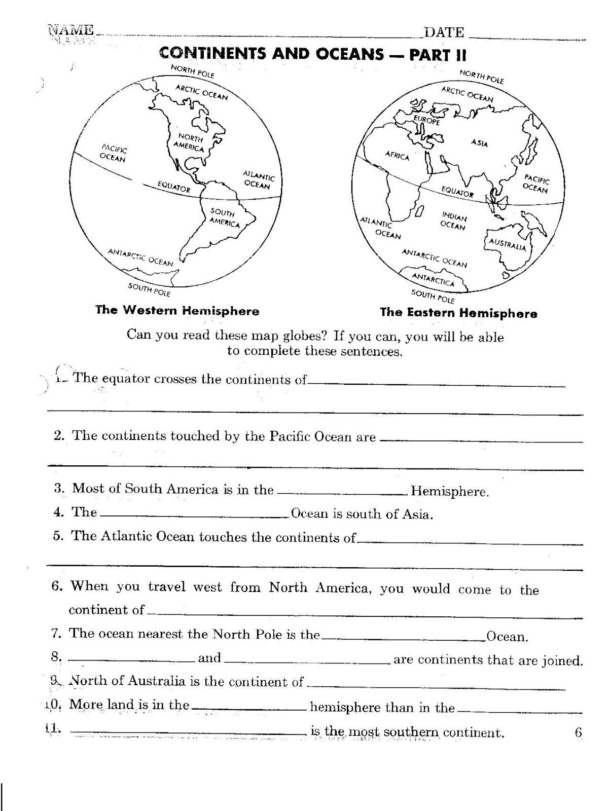 Hemisphere Worksheets 6th Grade Help with Homework for social Stu S Help with Essay Writing