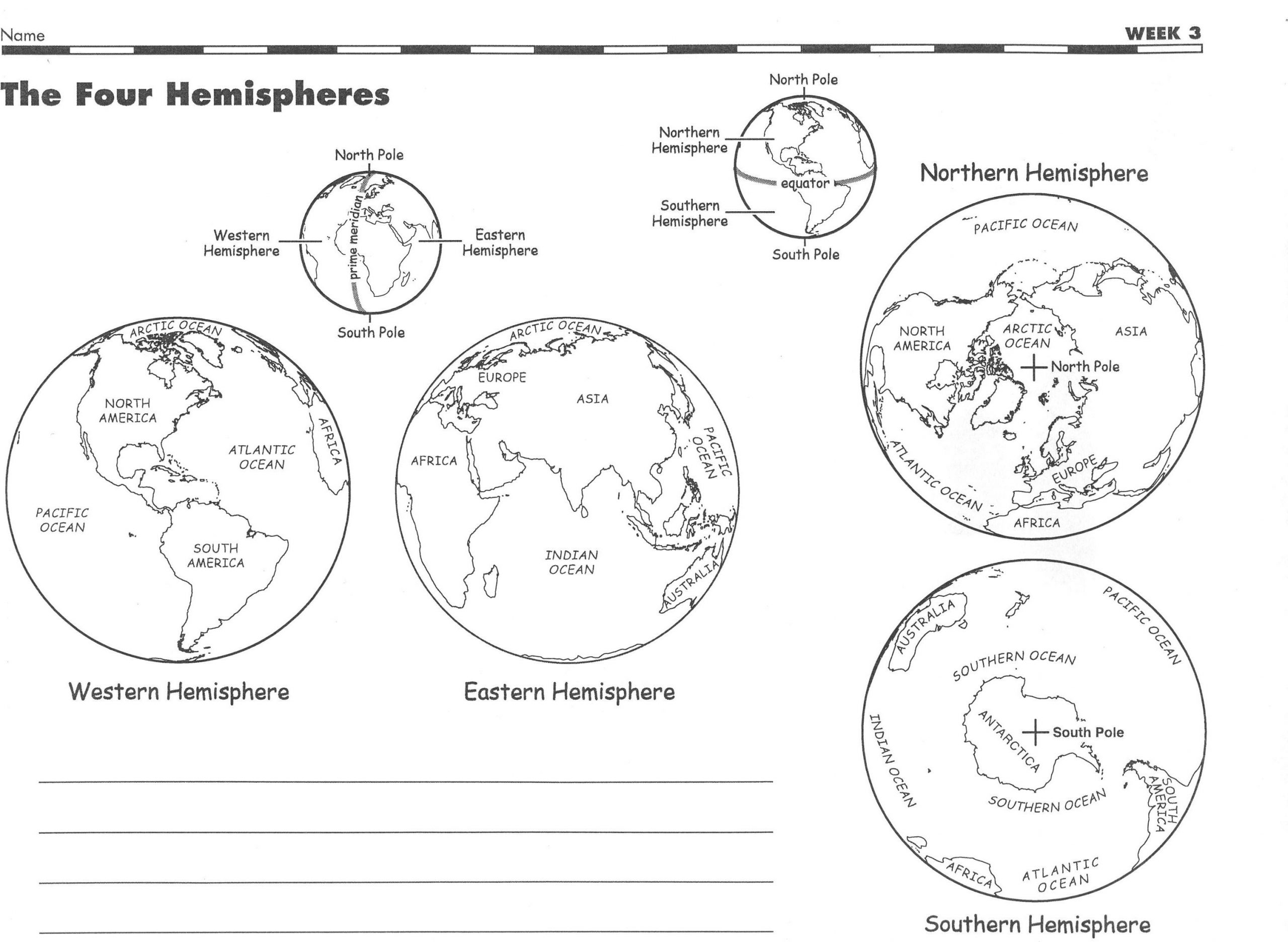 Hemisphere Worksheets 6th Grade social Stu S Mr tombs Class Website