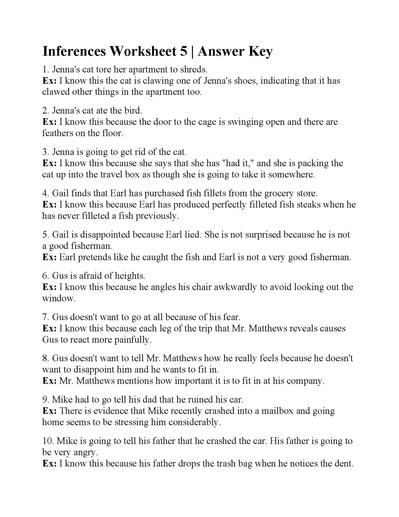 Inference Worksheets Grade 3 Hiddenfashionhistory Page 2 Multiplication Worksheets