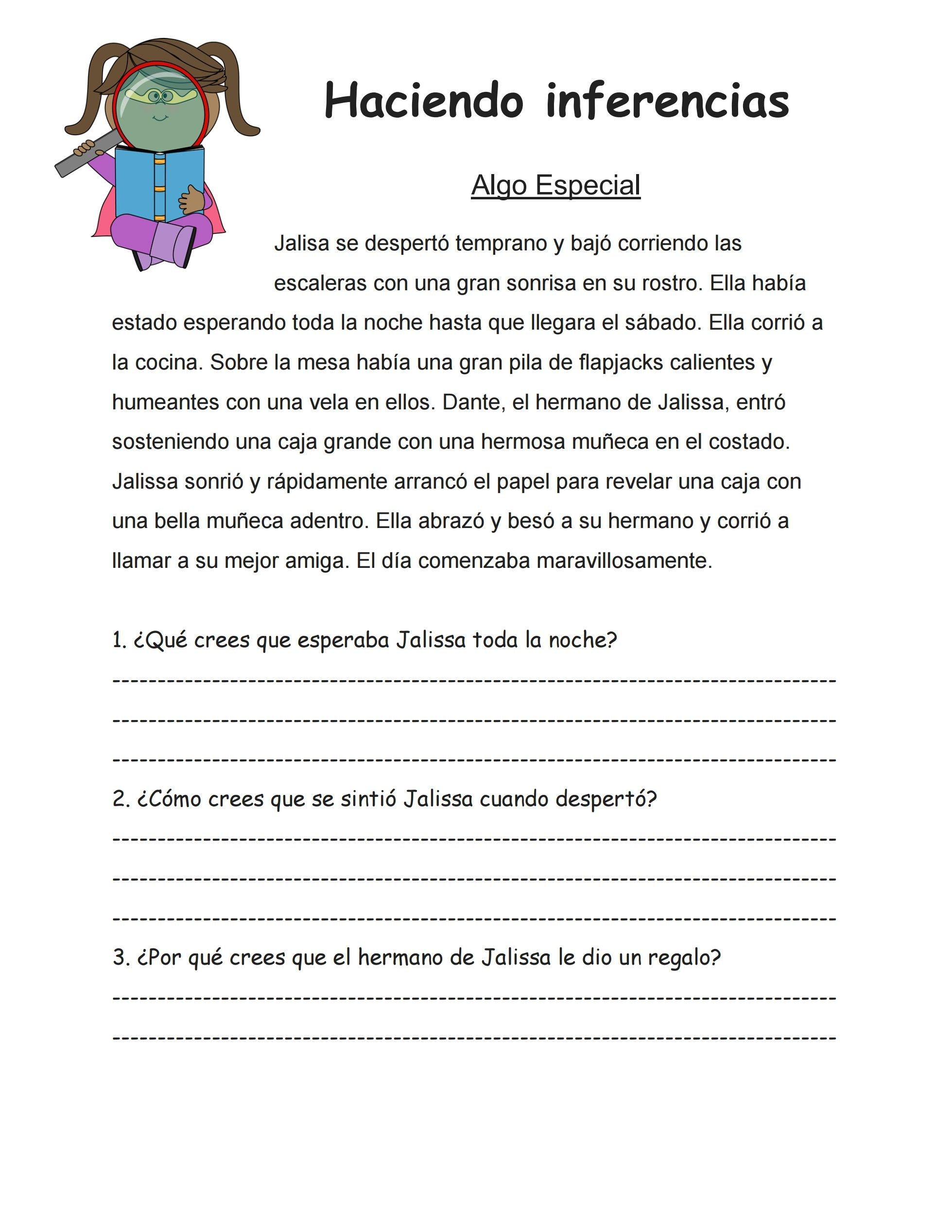 Inferencing Worksheets 4th Grade This is An Inferencing Worksheet I Created to Use with My