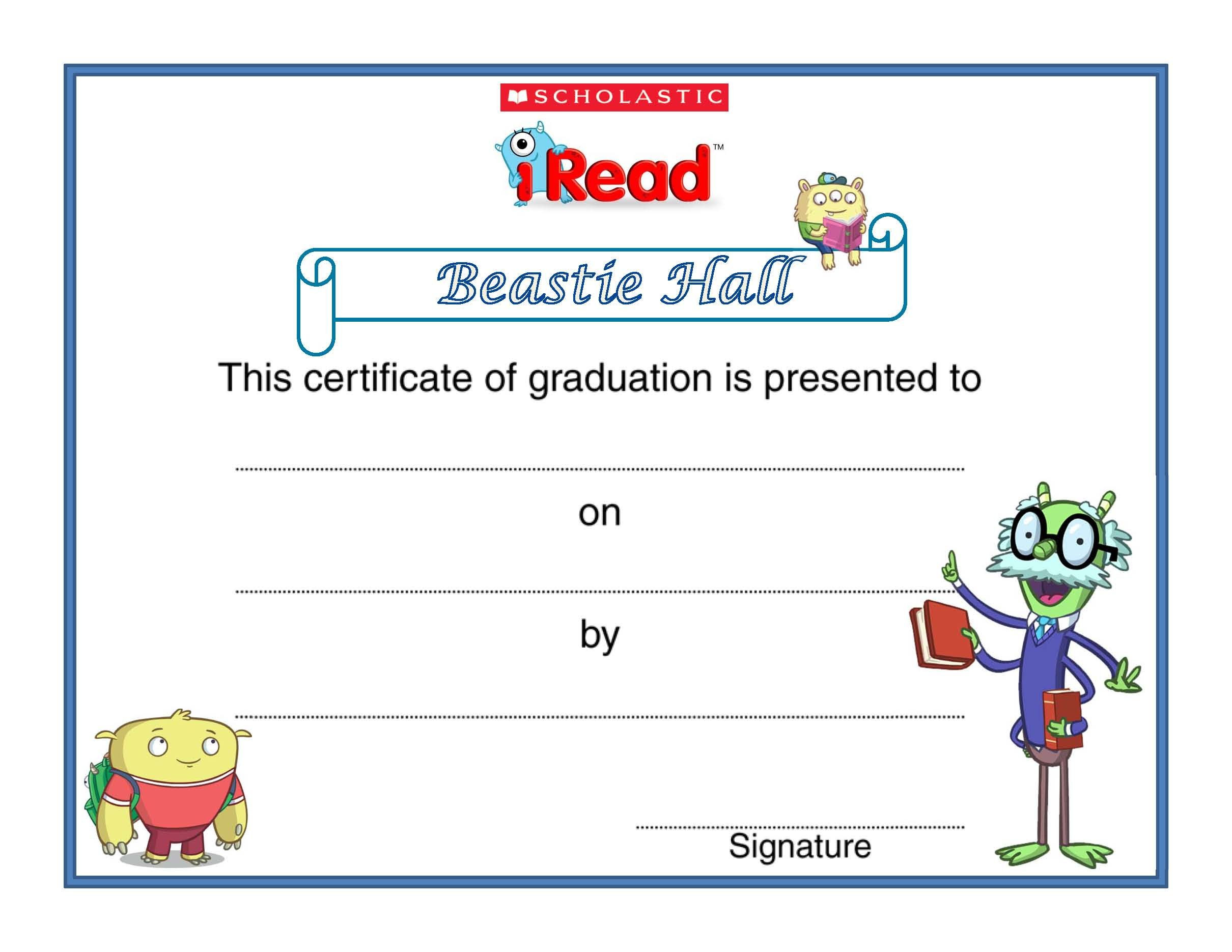 Iread 3 Practice Worksheets Congratulations to All the Beastie Hall Graduates Out there