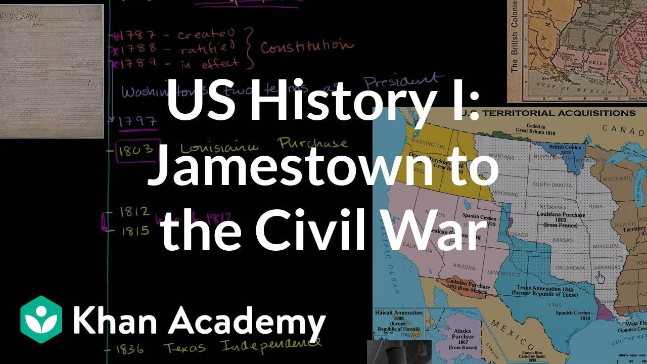 Jamestown Colony Worksheet 5th Grade Us History Overview 1 Jamestown to the Civil War Video