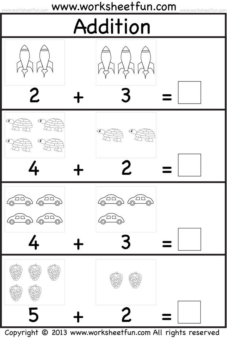 Kindergarten Math Worksheet Addition Kindergarten Math Worksheets for You Kindergarten Math