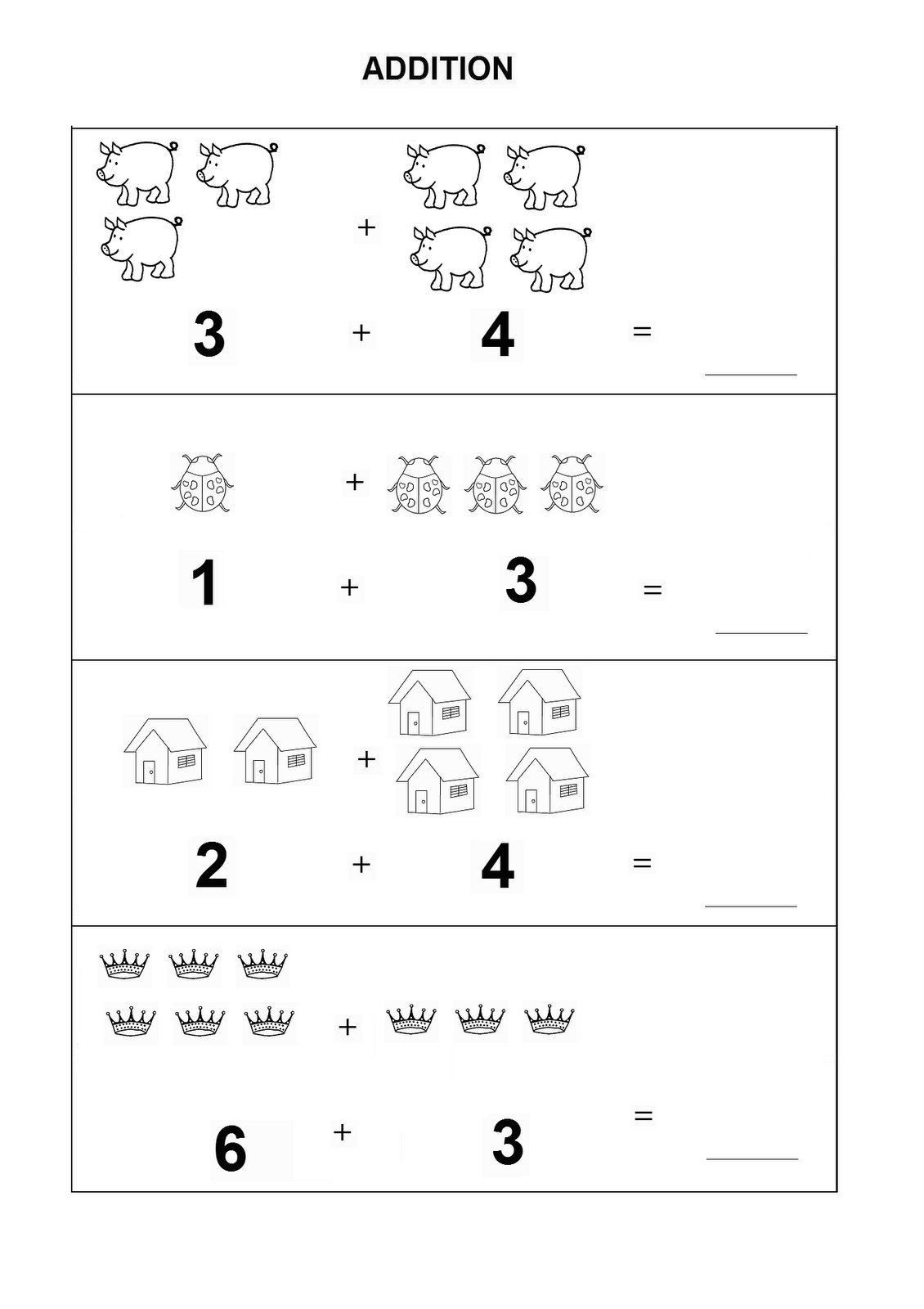 Kindergarten Math Worksheet Addition Worksheets Phenomenal Printable Kindergartenth Worksheets