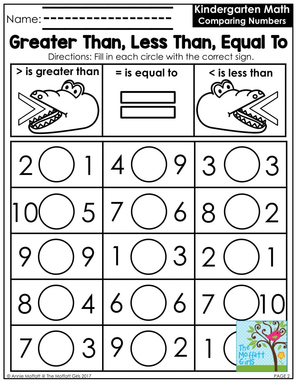 Kindergarten Math Worksheet Pdf Worksheet Free Math Worksheets Worksheet Printable