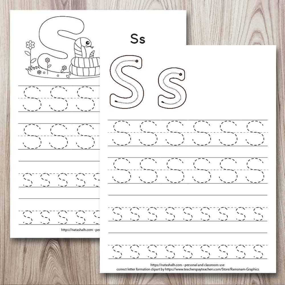 Letter G Tracing Worksheets Preschool Free Printable Letter S Tracing Worksheets for Preschool