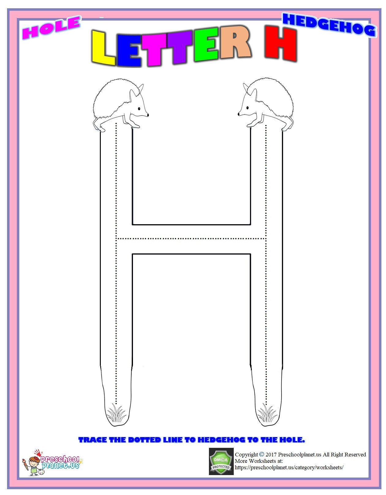 Letter H Worksheets for Preschool Letter H Worksheet – Preschoolplanet