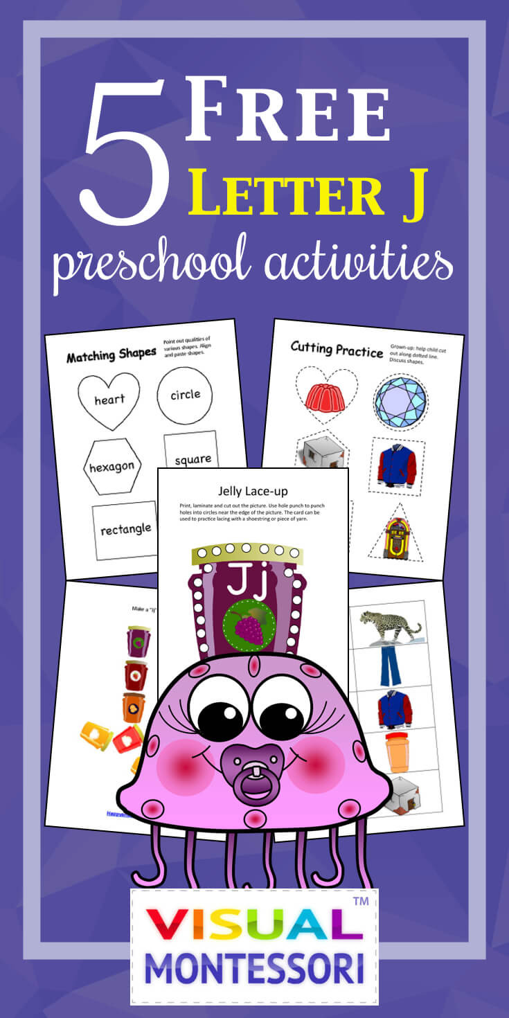 Letter J Worksheets for Preschool 5 Free Preschool Worksheets for Preschool Alphabet Letter J
