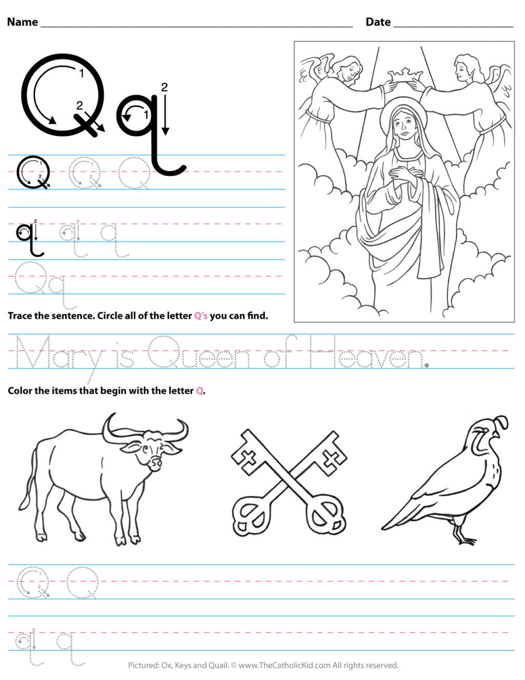 Letter Q Worksheets for Preschool Worksheet Working Sheets forolers Image Inspirations