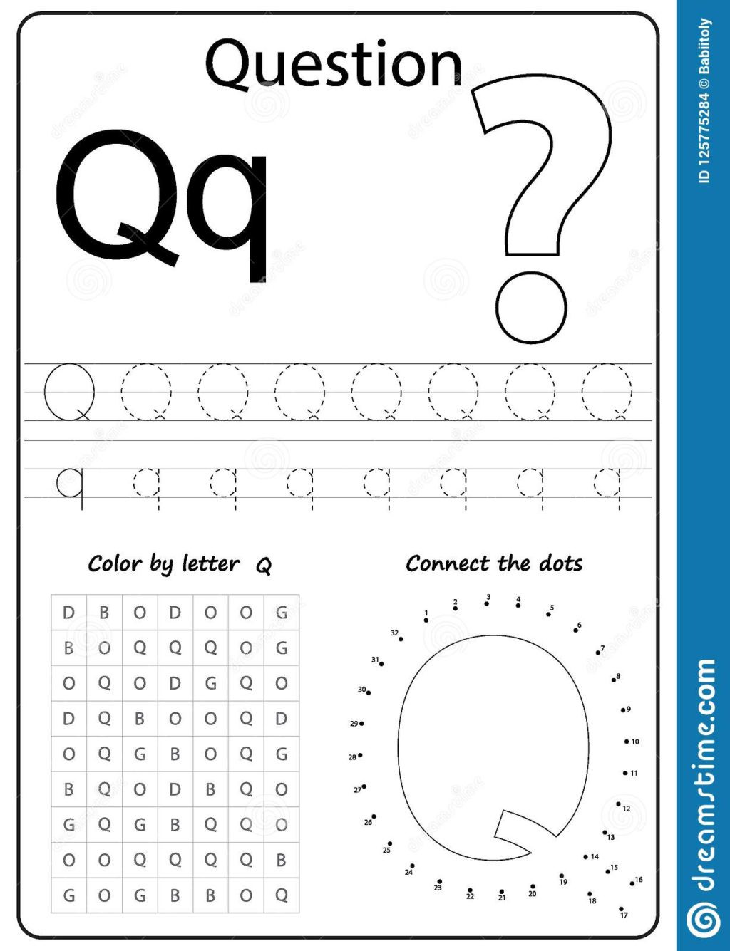 Letter Q Worksheets for Preschool Worksheet Worksheet Alphabet Letter Q Task Kids Learning