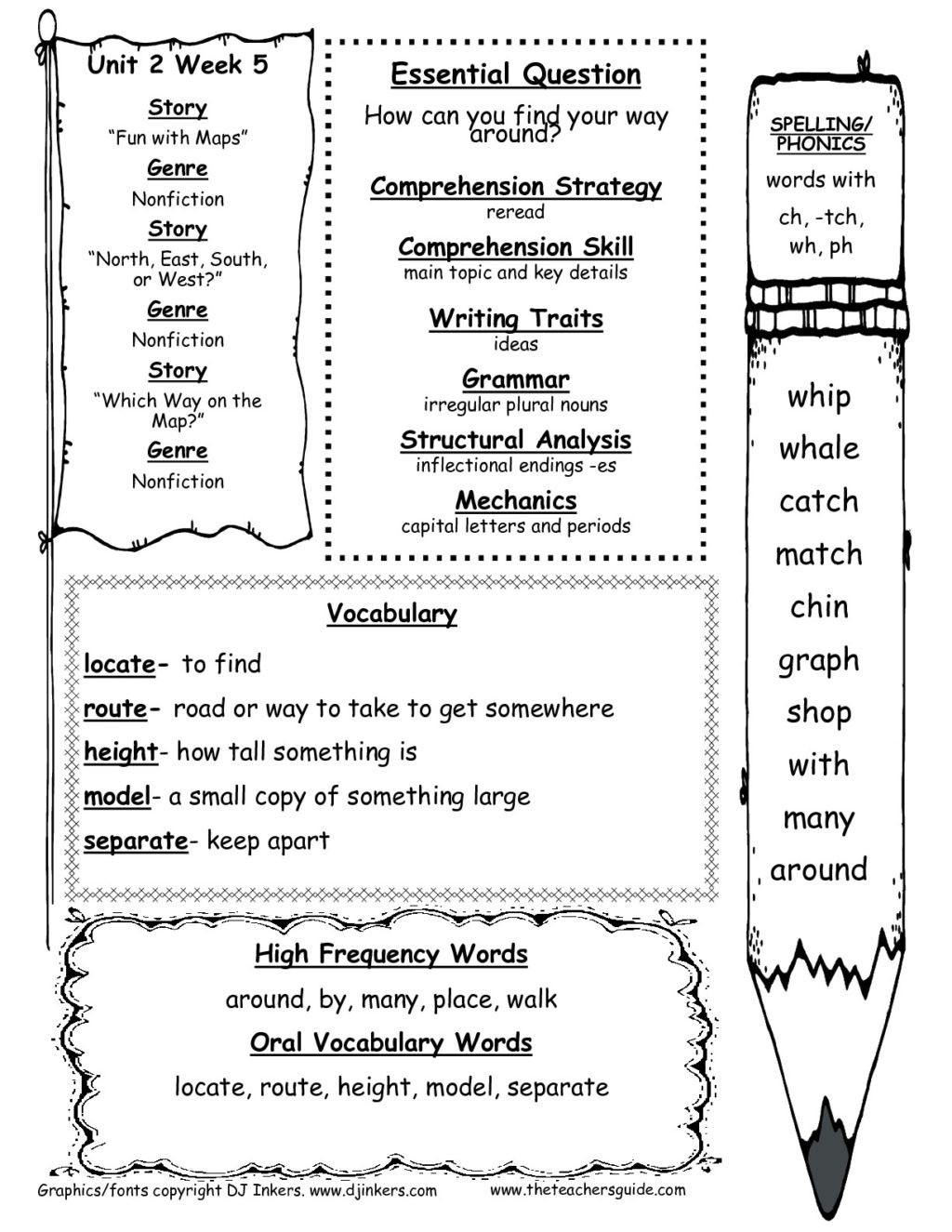 Map Skills Worksheet 2nd Grade Worksheet Worksheet Free Worksheets for 2nd Grade