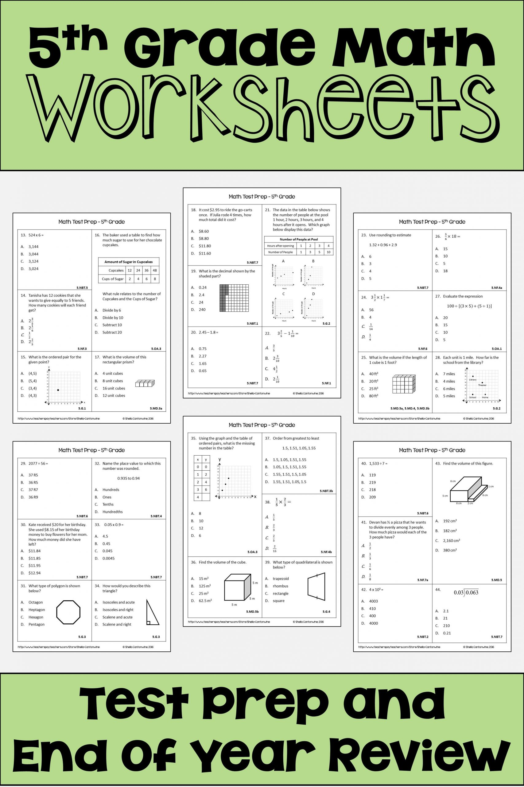 March Madness Math Worksheets these 5th Grade Math Worksheets are Fun for Students and