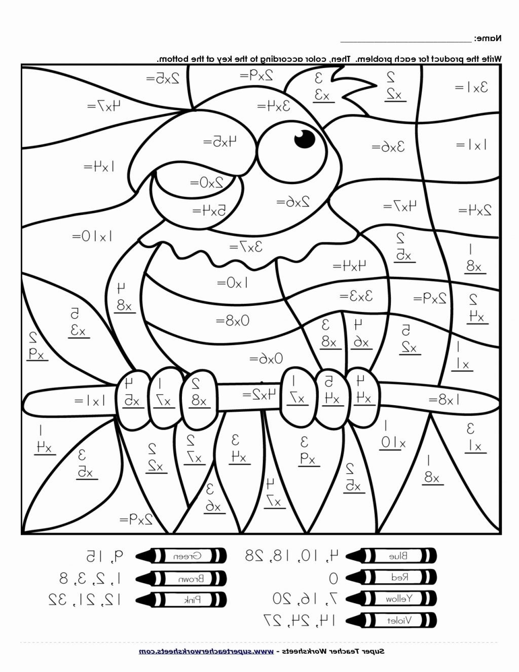 Math Addition Coloring Worksheets Math Worksheet Matht Coloring Page Pages Designts 4th