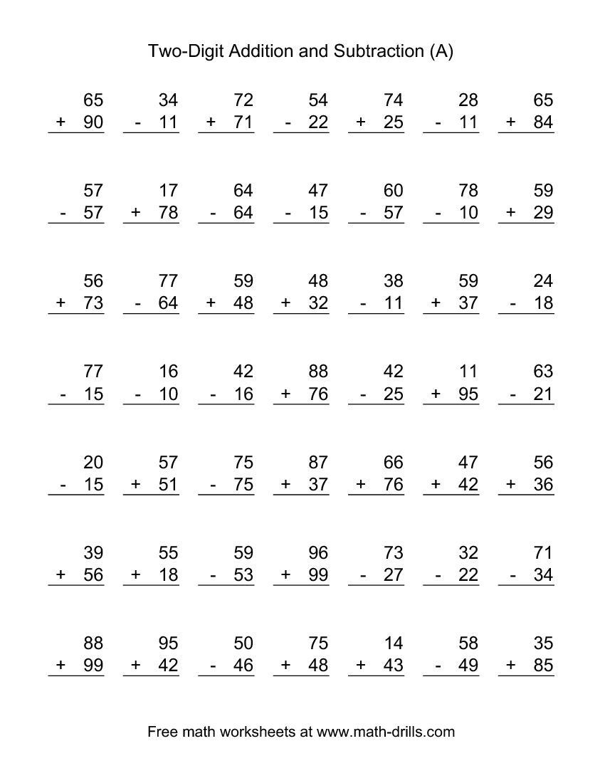 Math Worksheets Addition and Subtraction Answers to Geometry Problems Grade 10 Speech Marks Ks2 Free