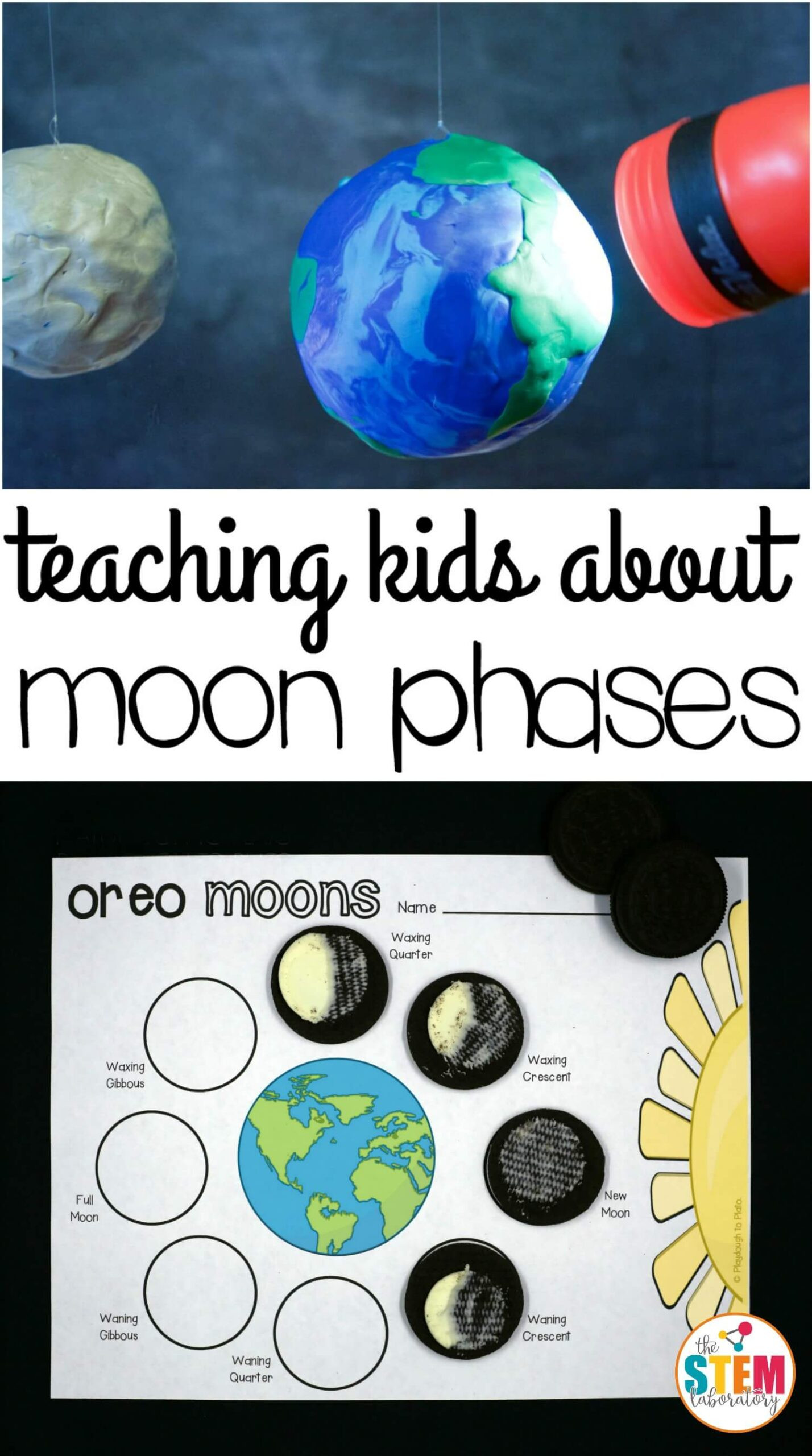 Moon Phases Worksheet 5th Grade oreo Moon Phases the Stem Laboratory