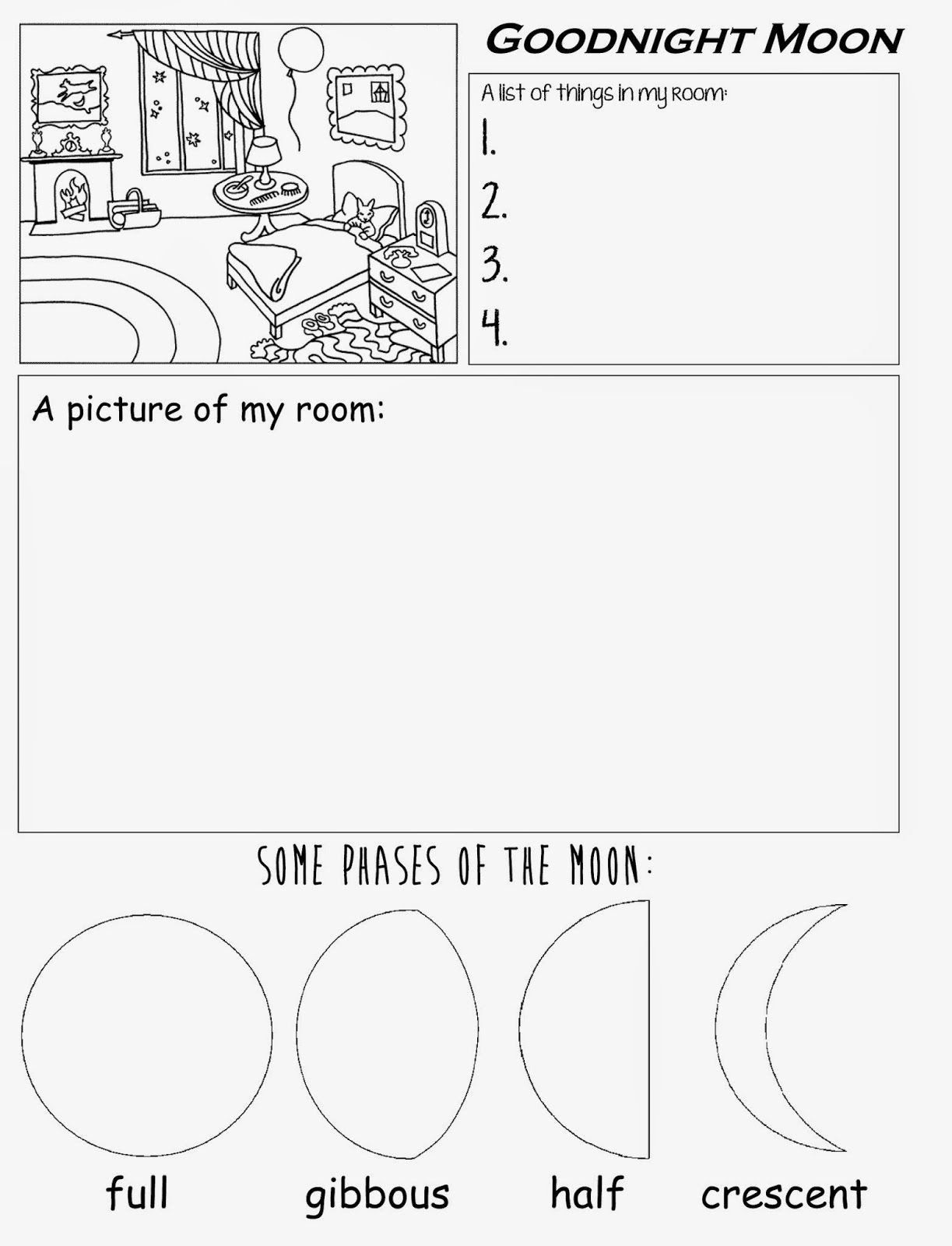 Moon Phases Worksheet 5th Grade Pin On organized Printable Grade Worksheet