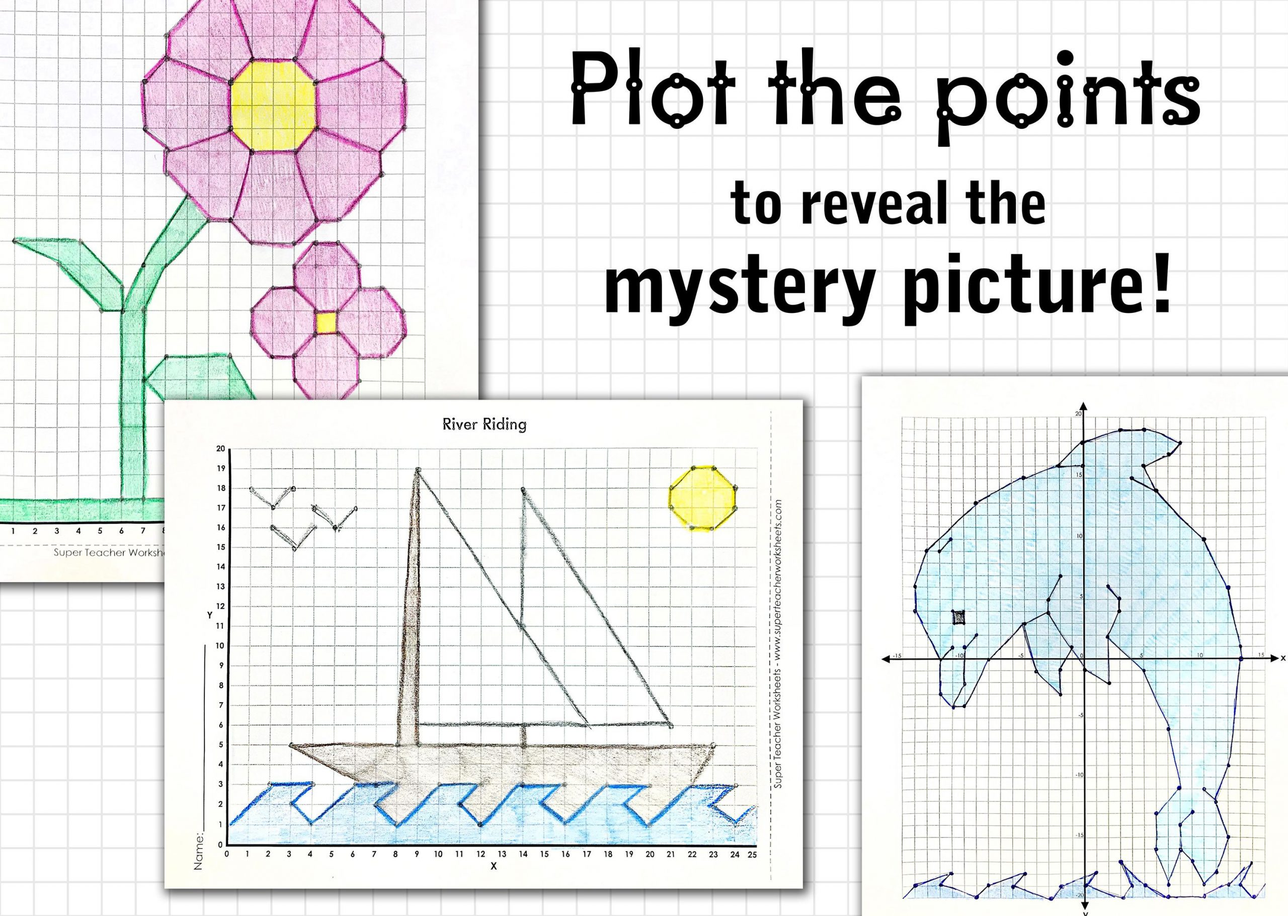 Mystery Graph Pictures Printable Free Make It A Point to Check Out the Mathmysterygraphs On