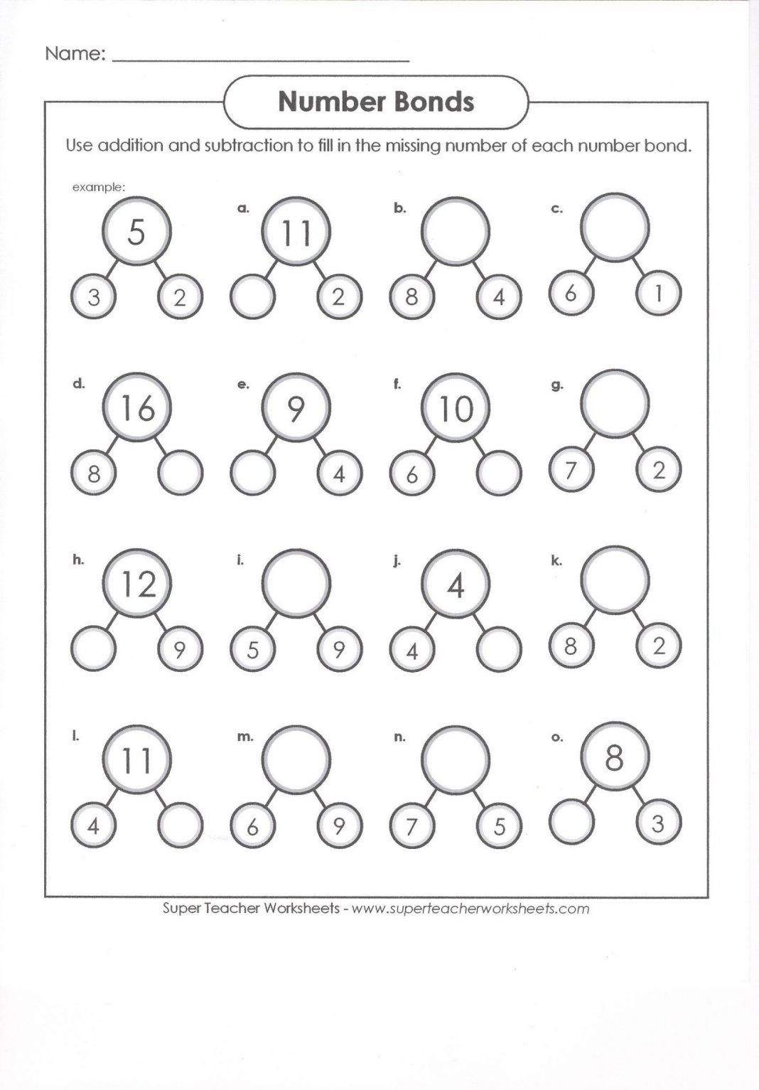 Number Bonds Worksheets 1st Grade 40 Clever 1st Grade Math Worksheets Design Bacamajalah In