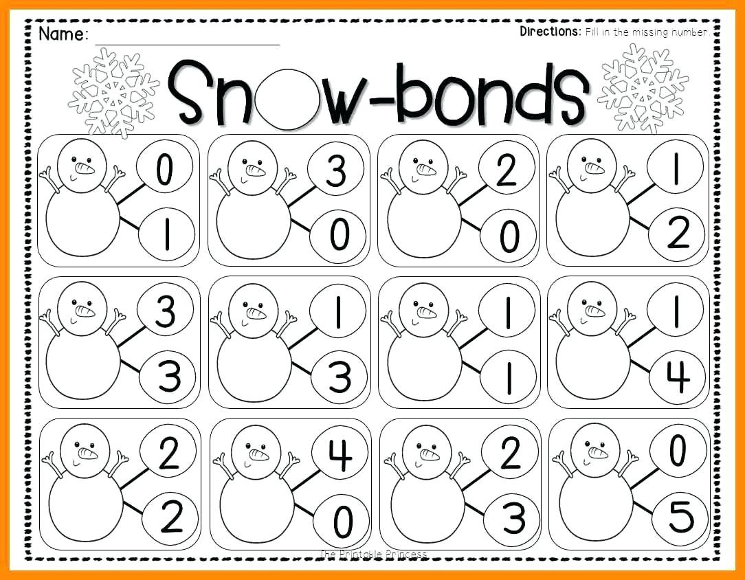 Number Bonds Worksheets 1st Grade Number Bonds Worksheets to You Number Bonds Worksheets