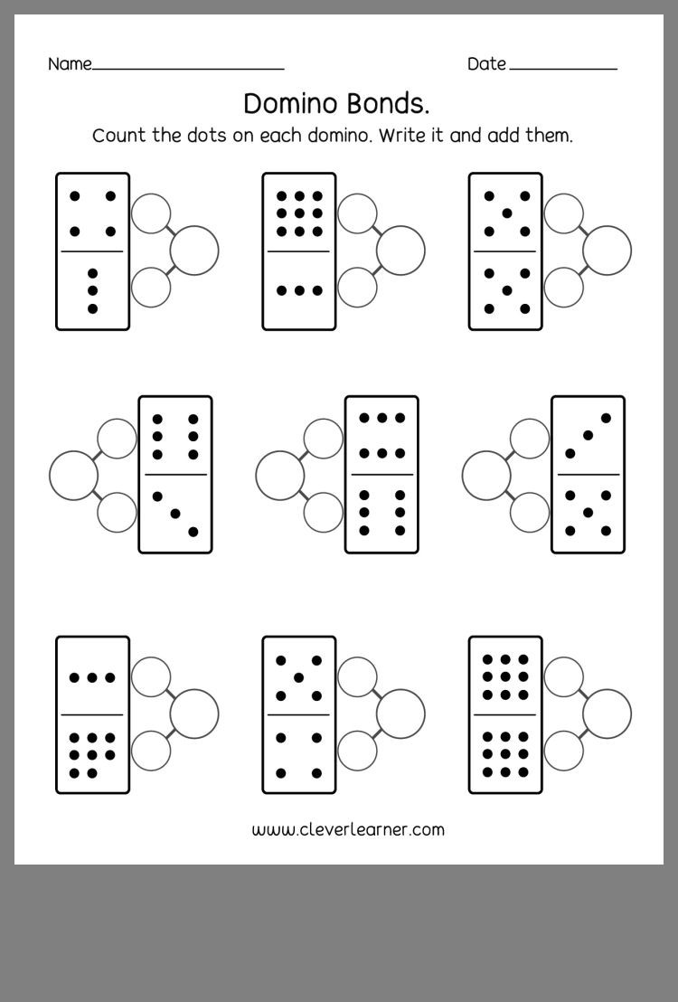 Number Bonds Worksheets 1st Grade Pin by Stephanie Menard Math