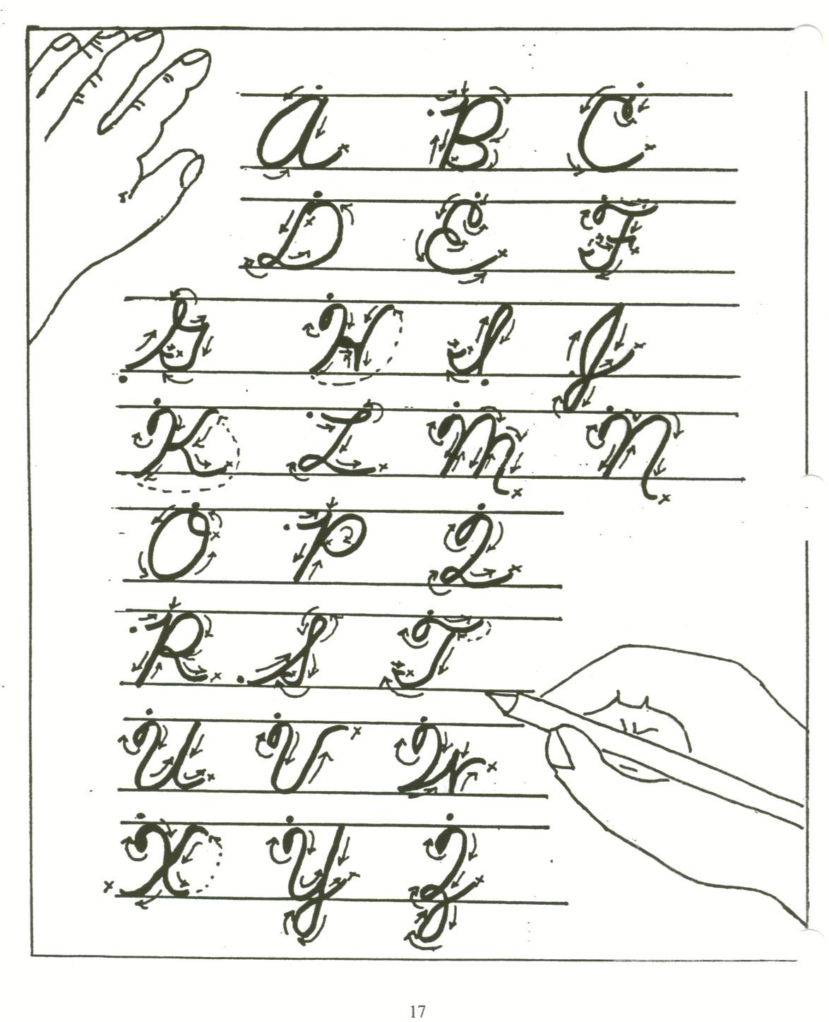 Occupational therapy Handwriting Worksheets Handwriting and Occupational therapy