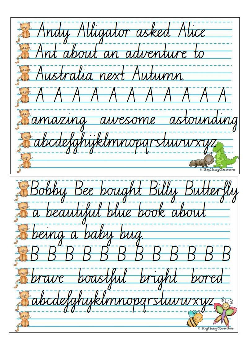 Occupational therapy Handwriting Worksheets Worksheet Free Handwriting Resources Picture Inspirations