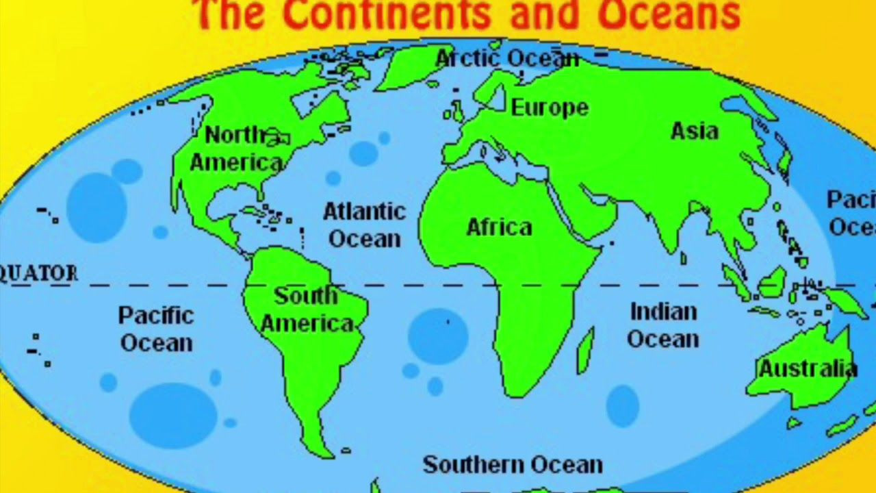 Ocean Worksheets for 2nd Grade 2nd Grade Continents and Oceans