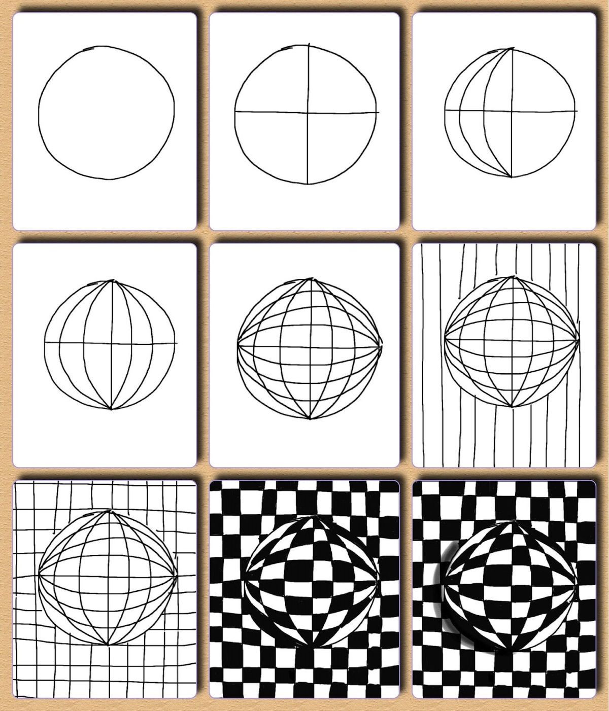 Optical Illusion Worksheets Printable Grade 5