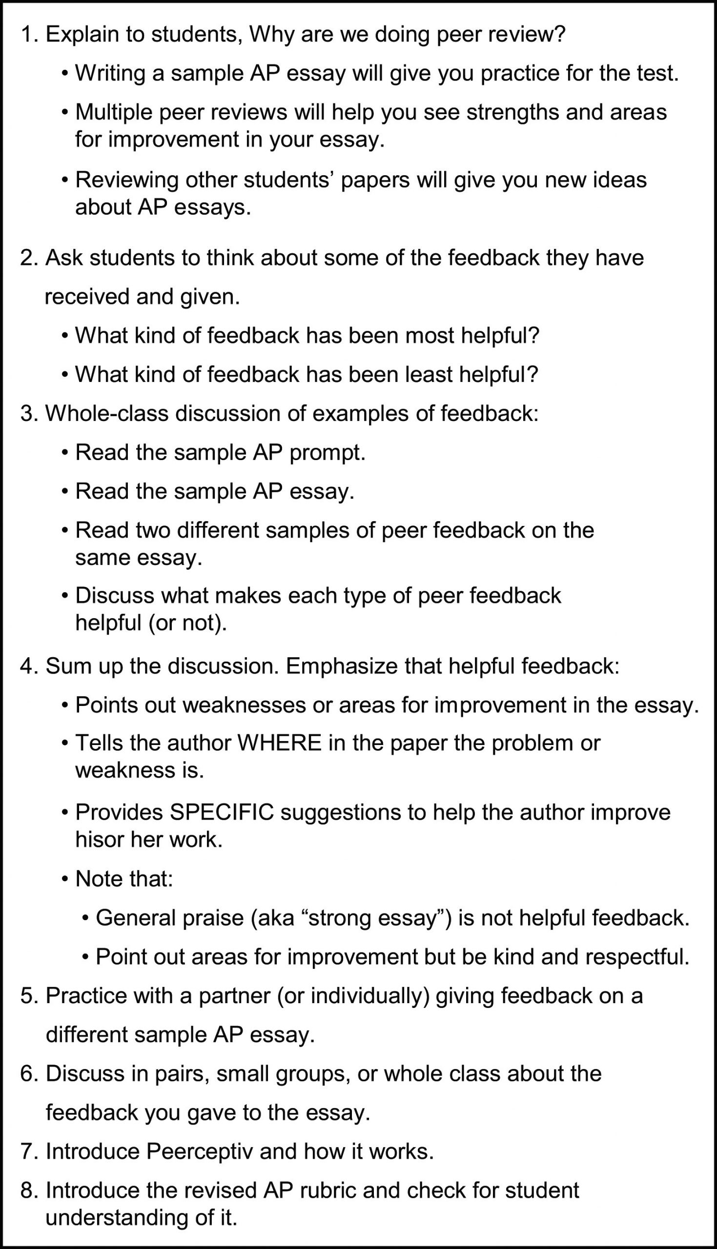 Peer Review Worksheet High School the Reliability and Validity Of Peer Review Of Writing In