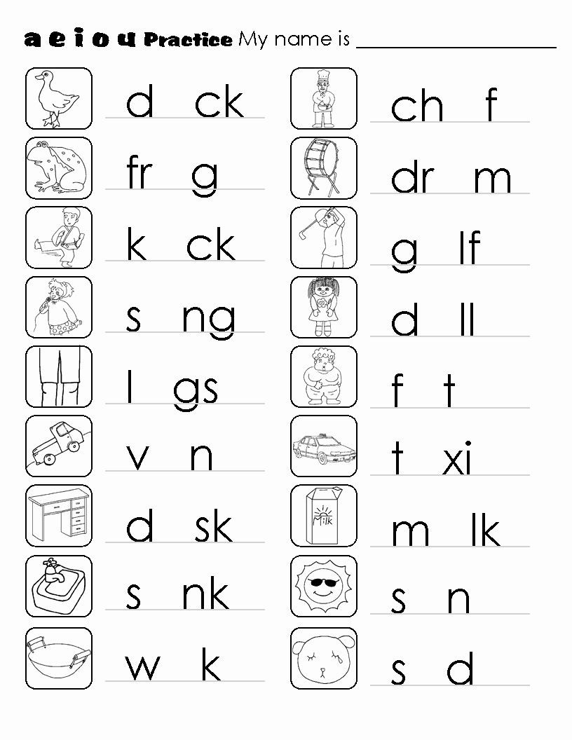 Phonics Worksheets Grade 1 Pdf Phonics Worksheets Pdf Awesome Kindergarten Phonics