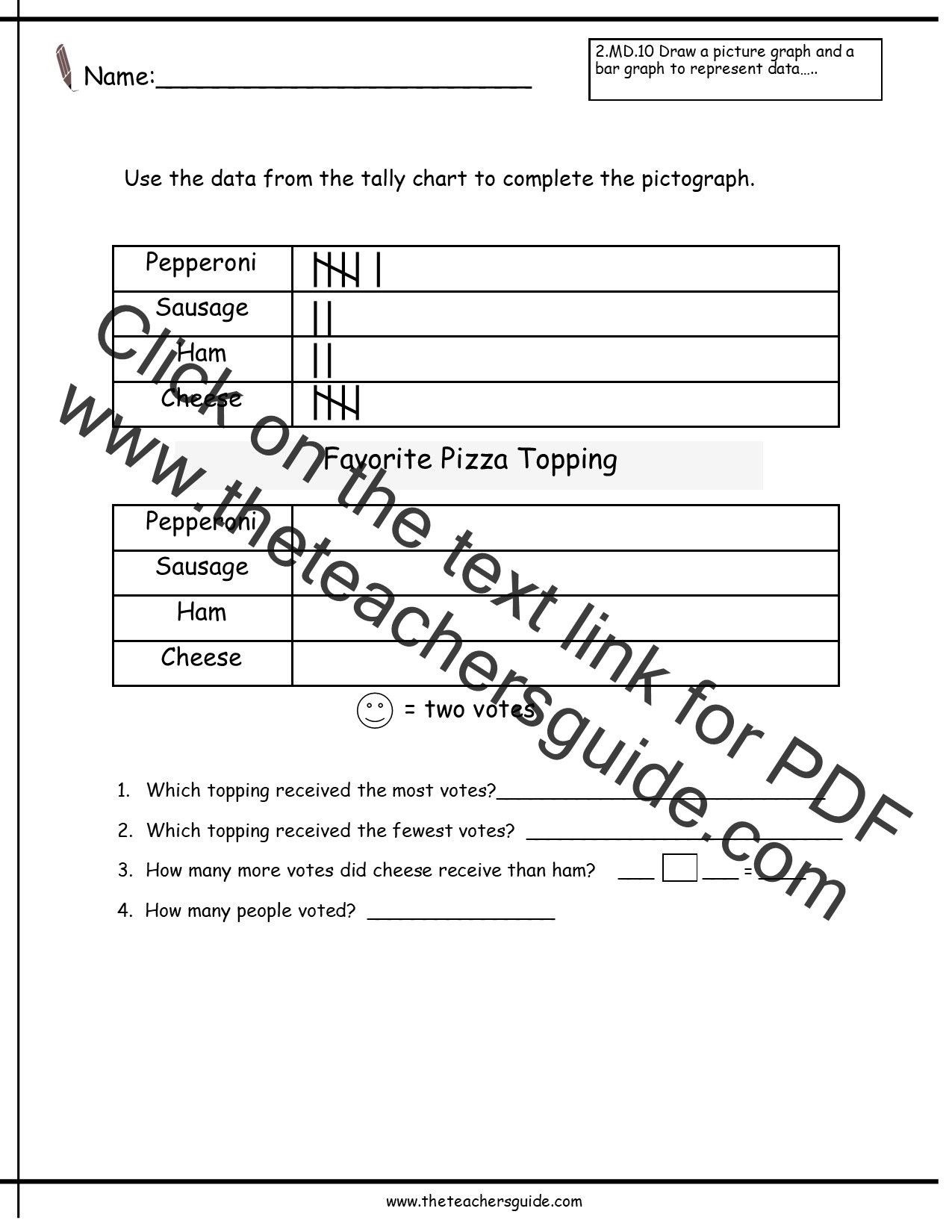 Pictograph Worksheets 3rd Grade Pictograph Worksheets for 3rd Graders