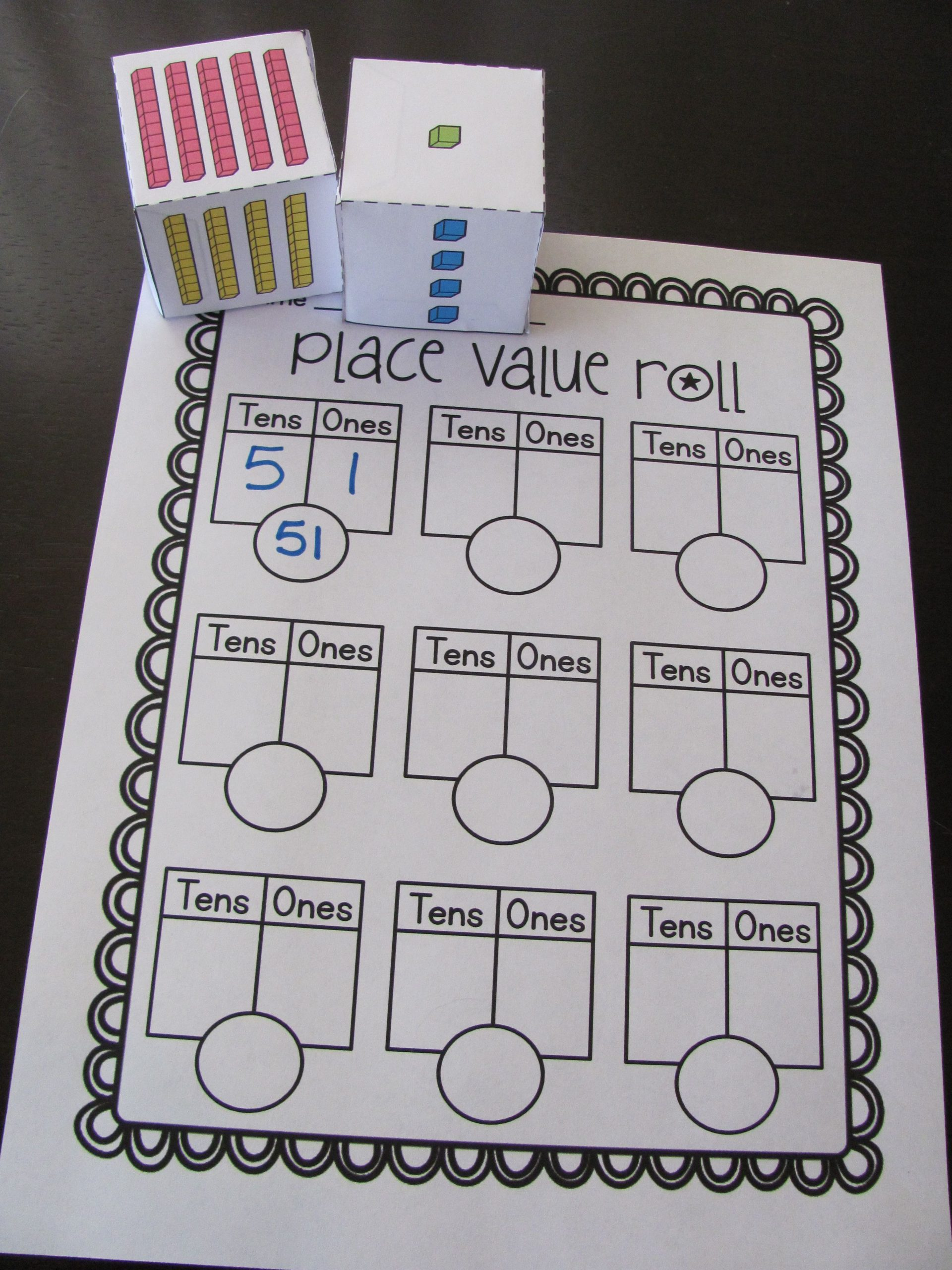 Place Value First Grade Worksheets First Grade Math Unit 9 Place Value