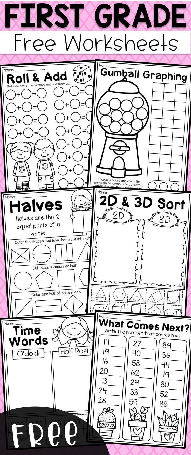 Place Value First Grade Worksheets Free First Grade Math Worksheets