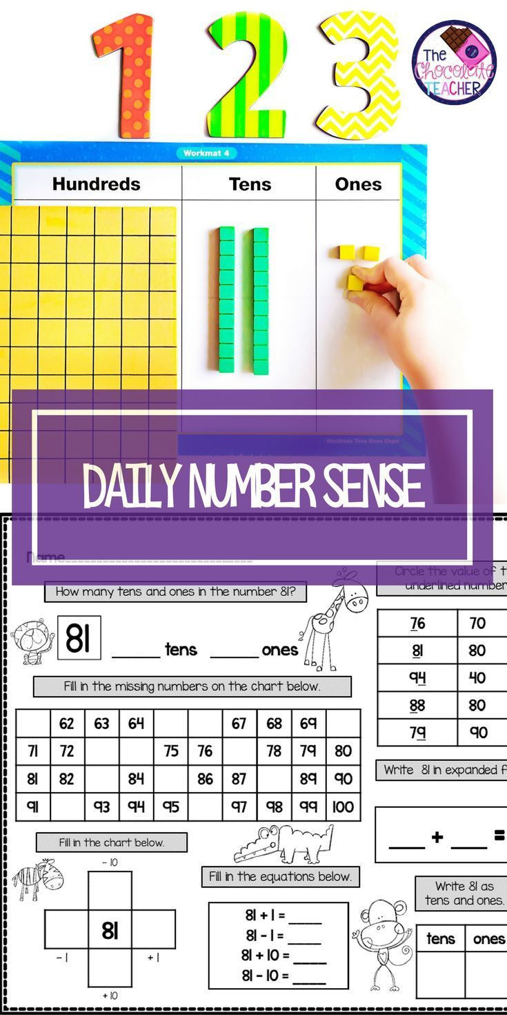 Place Value First Grade Worksheets Place Value Worksheets and Activities 1st Grade Math Month 4