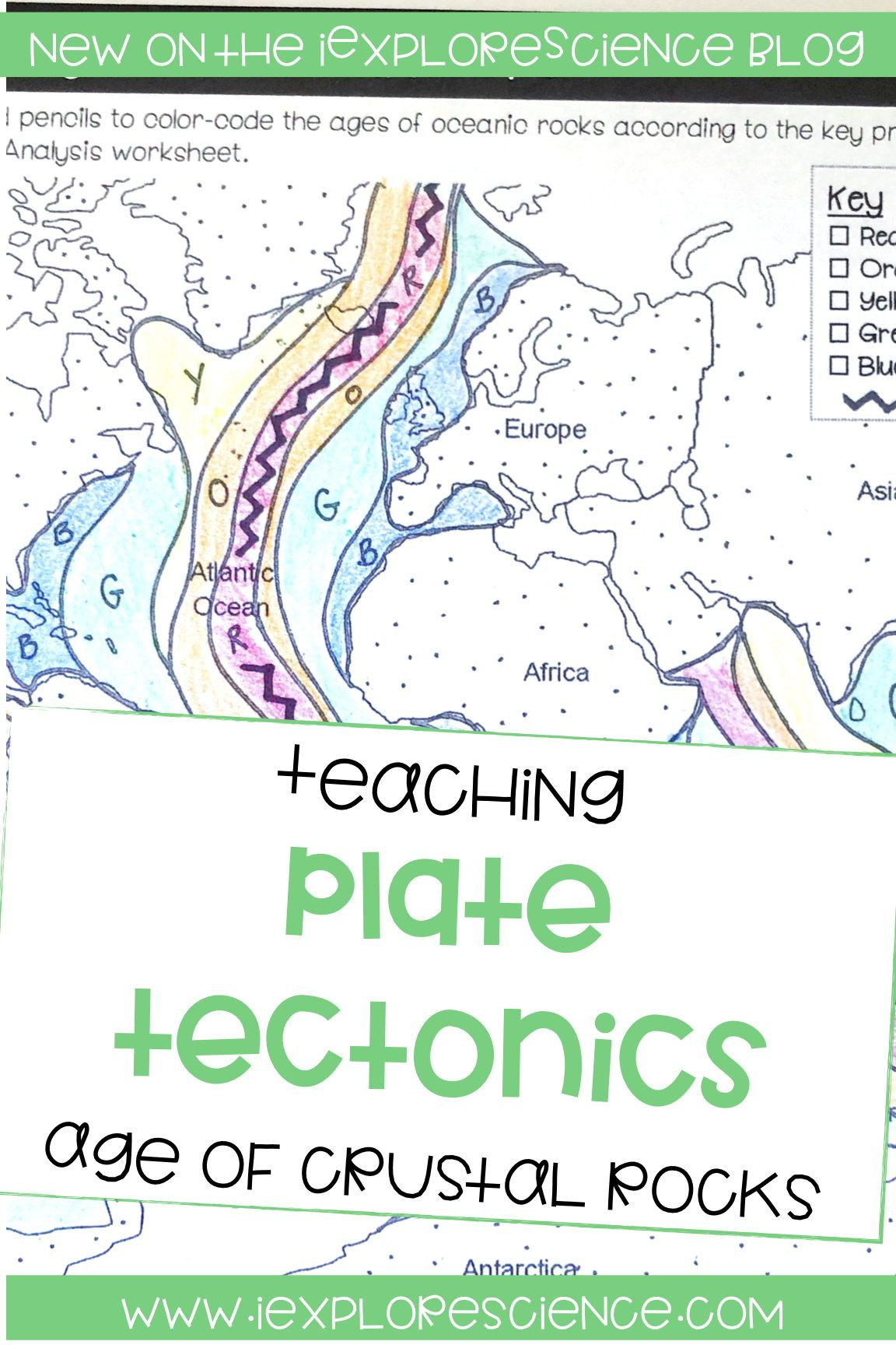 Plate Tectonics Worksheet 6th Grade Plate Tectonics Age is but A Number… until It S Evidence