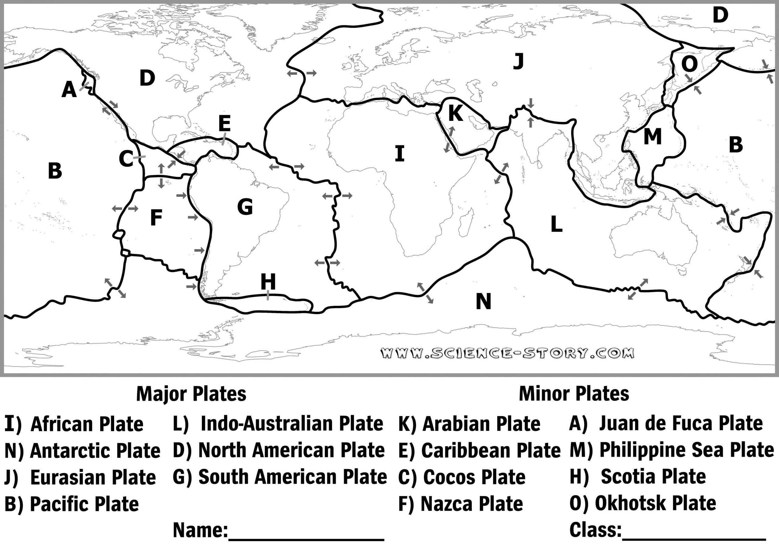 Plate Tectonics Worksheet 6th Grade Plate Tectonics Diagram Black and White Google Search