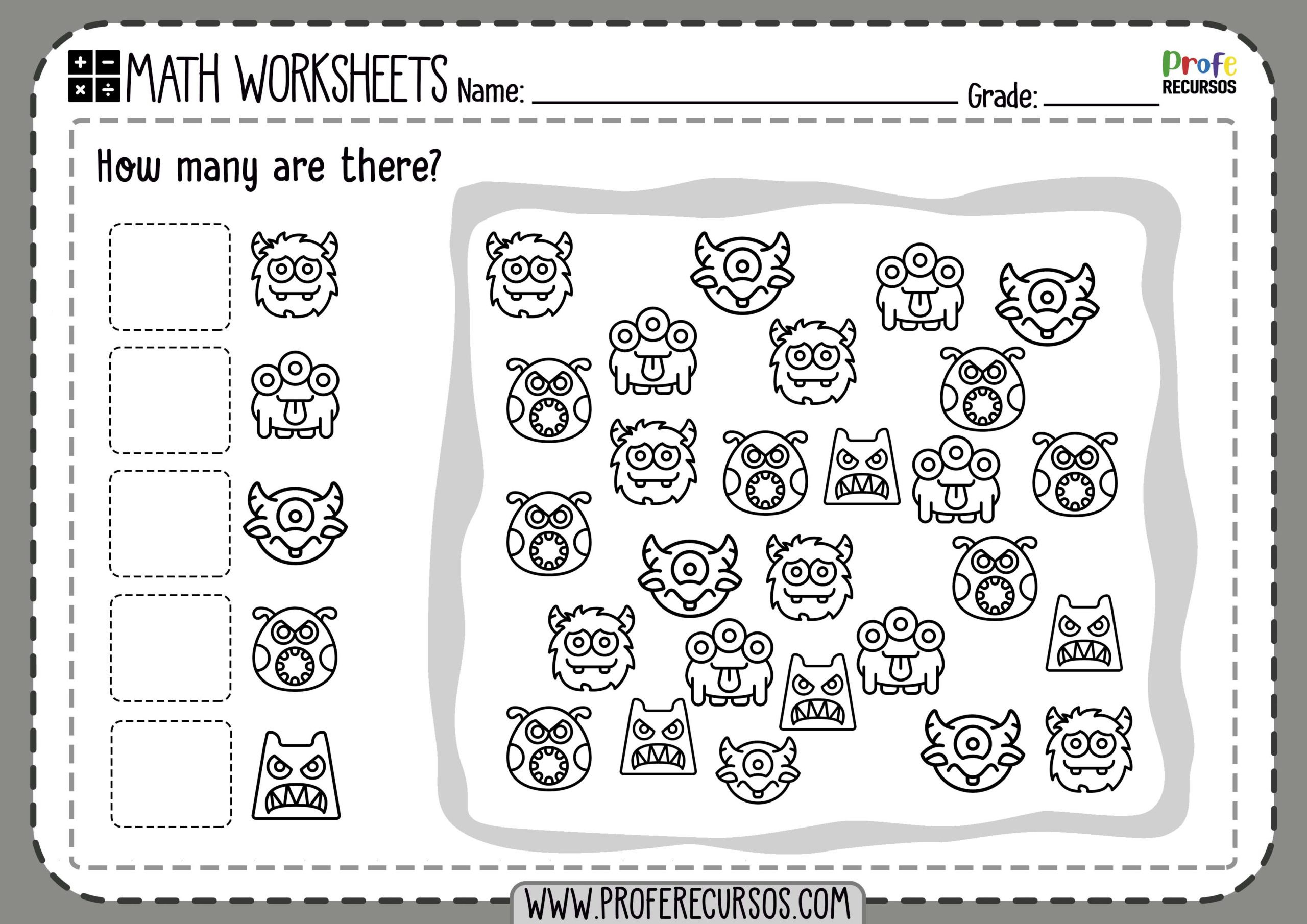 Pre K Math Worksheets Worksheets Kinder Math Worksheets Printables Free for