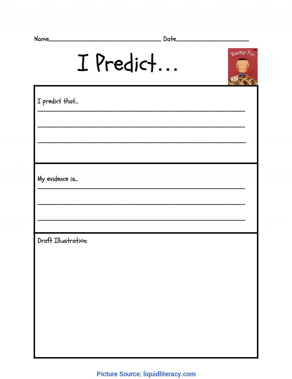 Prediction Worksheets for 3rd Grade Math Lesson Plan Template Business 3rd Grade Plans Ota Tech