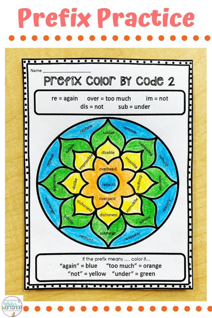 Prefixes Worksheets 4th Grade Prefix Worksheets