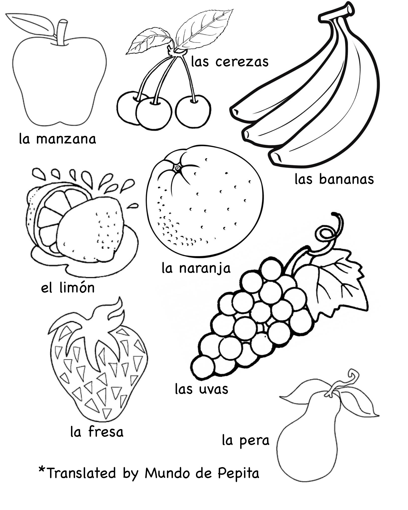 Preschool Fruits and Vegetables Worksheets Coloring Book Multilingual Printablesits and Ve Ables In