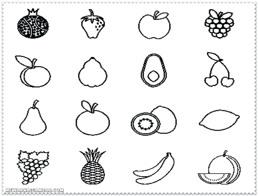 Preschool Fruits and Vegetables Worksheets Coloring Fruits and Ve Ables Printable Phenomenal Picture
