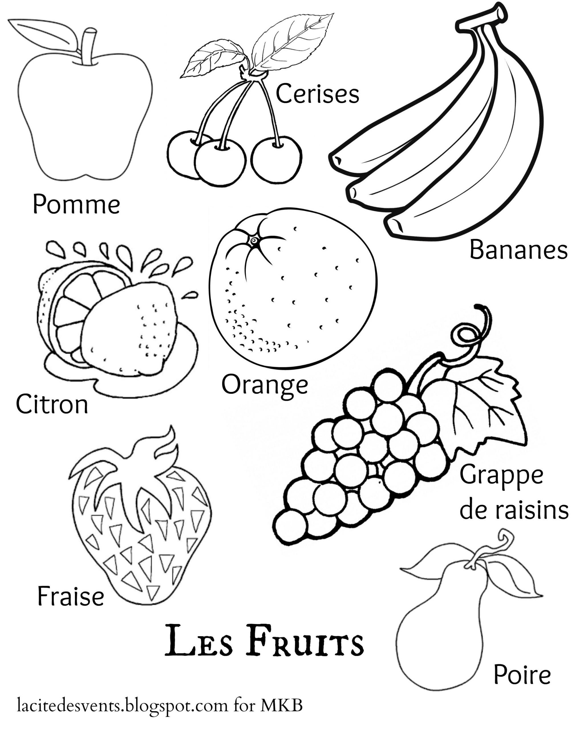 Preschool Fruits and Vegetables Worksheets Fruit Coloring Pages Ve Able Food Sheet Fruits and