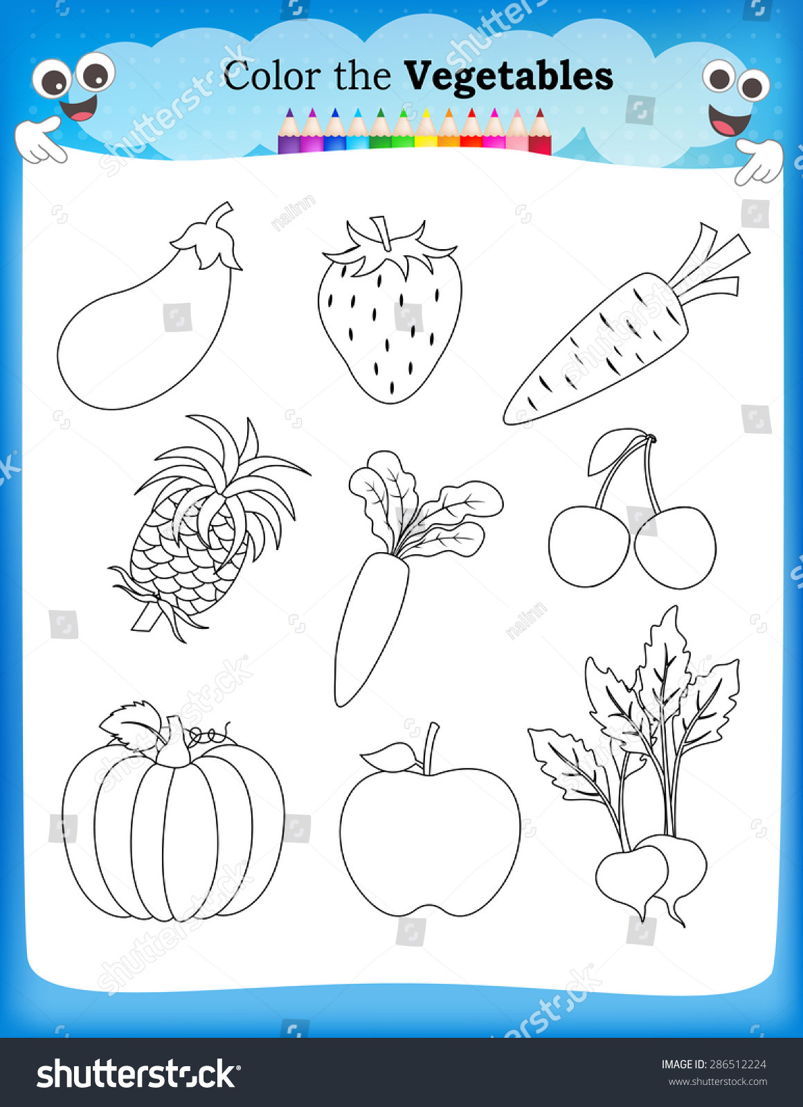 Preschool Fruits and Vegetables Worksheets Ve Ables Fruits Worksheets Search